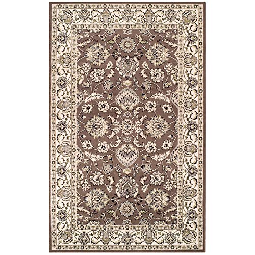 SUPERIOR Lille 4′ x 6′ Area Rug, Contemporary Living Room & Bedroom Area Rug, Anti-Static and Water-Repellent for…