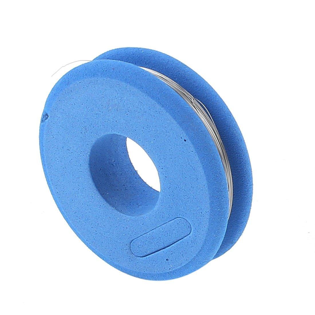 FeCrA1 fio 0, 15 milímetros 35 calibre AWG 24, 6 pés Rolo Aquecedor fio azul: Amazon.com: Industrial & Scientific