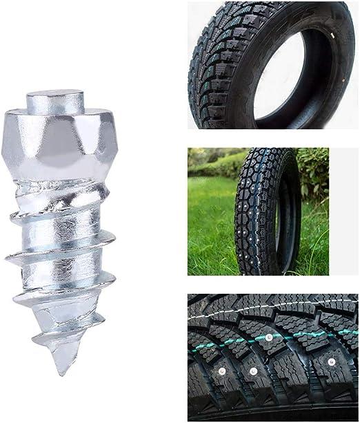 100pcs Tire Stud Screw 15mm//0.59 Wheel Tyre Stud Screws Snow Tire Spikes for Car//ATV//SUV//Motorbike//Motorcycle//Forklift//Mini-loader//Garden Tractors//Racing Car
