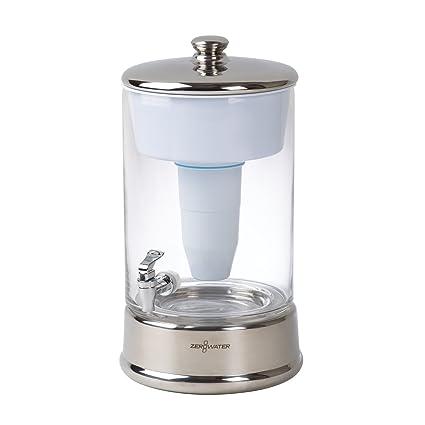 amazon com zerowater 40 cup ready pour glass dispenser bpa free