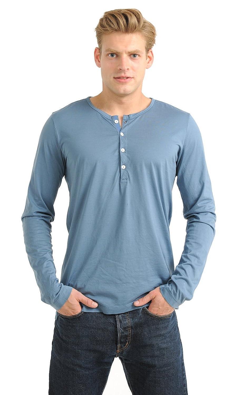 Herren Shirt 1/1 Arm Edgar Schiesser Revival jeansblau 120-118-816 (4 (S)):  Amazon.de: Bekleidung