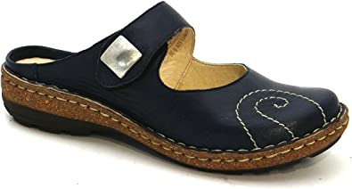 OGSwideshoes Numana Blue Extra Wide Fit