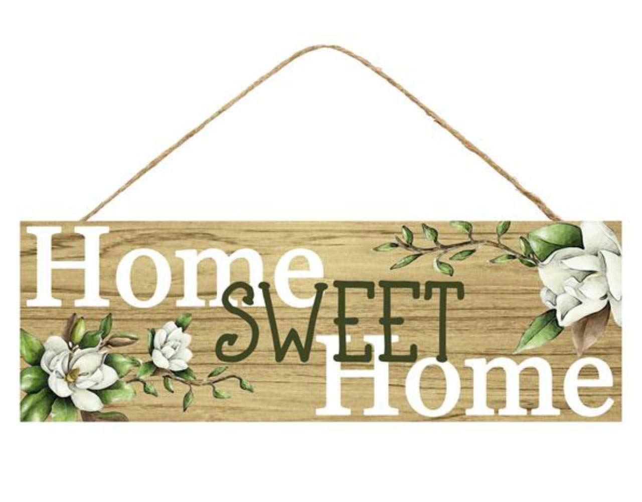 Craig Bachman Home Sweet Home Wooden Sign 12.5 Inches x 6 Inches