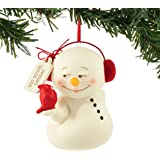 """Department 56 Snowpinions Too Much Twitter Ornament 3"""""""