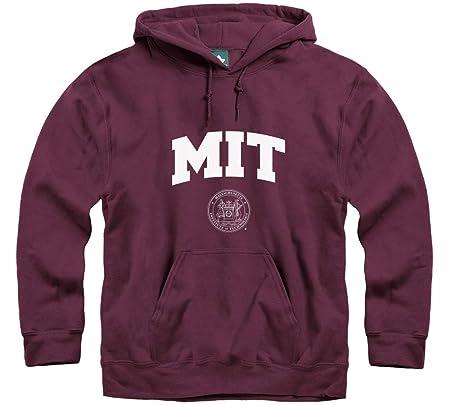 Instituto de Tecnología de Massachusetts (mit) producto oficial de arco Logo sudadera con capucha, Granate: Amazon.es: Deportes y aire libre