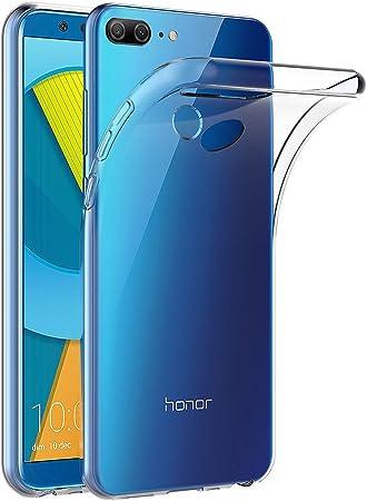 AICEK Funda Honor 9 Lite, Transparente Silicona Fundas para Huawei ...
