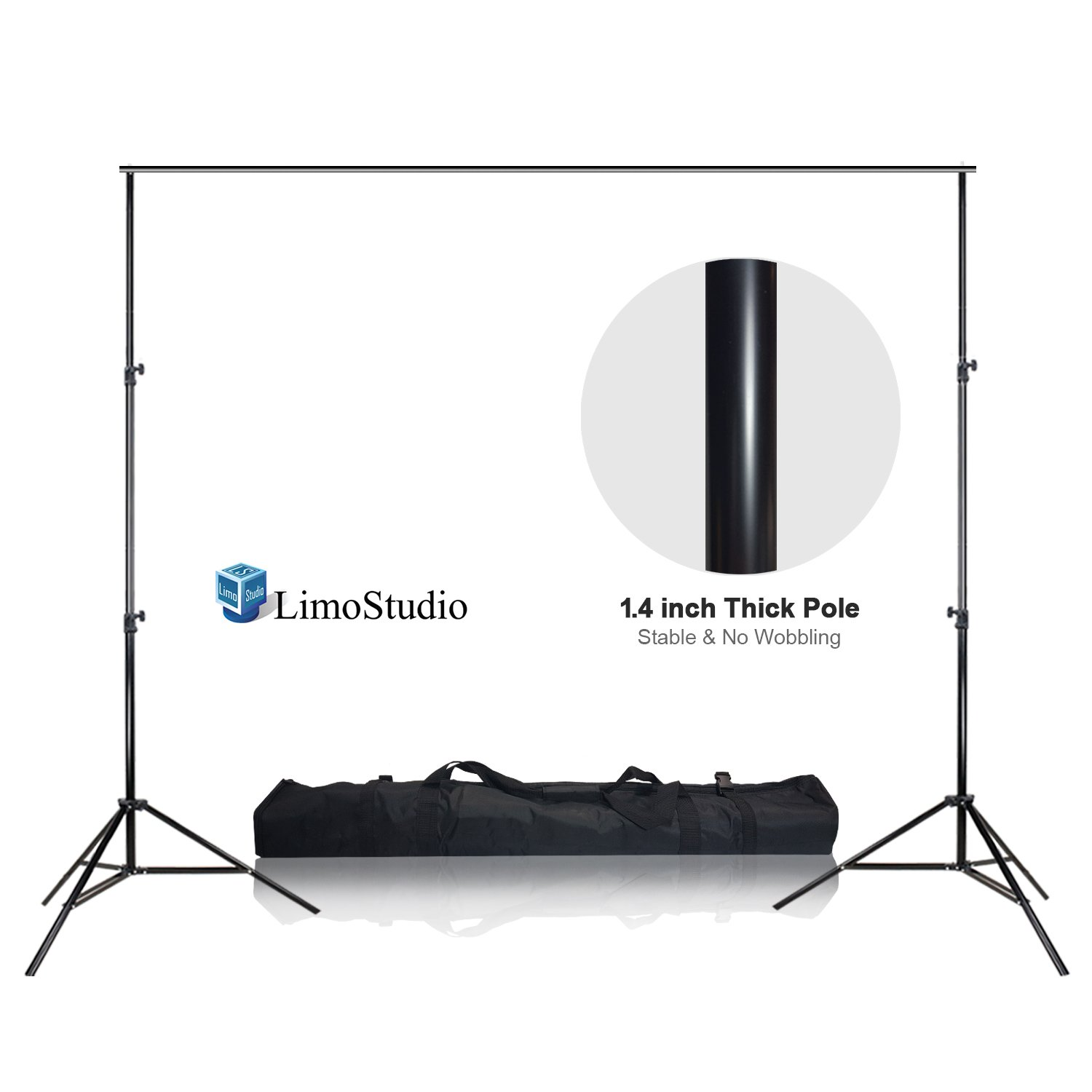 LimoStudio 10 x 12ft Heavy Duty Backdrop Support System, AGG1782 by LimoStudio