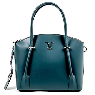 V 1969 Italia Womens Handbag V003 S PETROL  Amazon.co.uk  Shoes   Bags dc7001ad34292