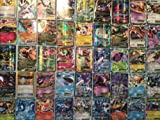 Pokemon TCG : 100 CARD LOT GUARANTEED EX OR MEGA EX RARE, COMMON, UNC, HOLO
