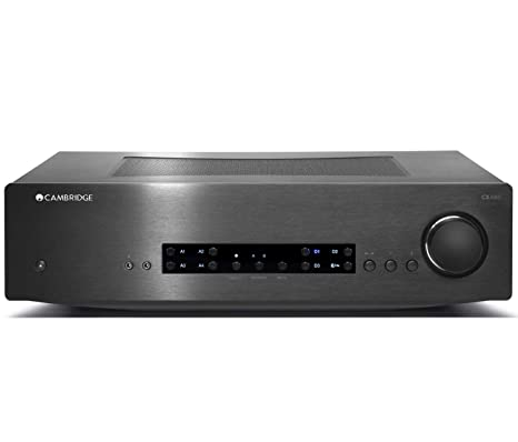 Cambridge Audio CXA80 80W Stereo Integrated Amplifier with DAC and  Bluetooth (Black)