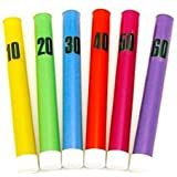 Only Swim Swimming Pool Play Kids Florescent Dive Sticks Set Of 6