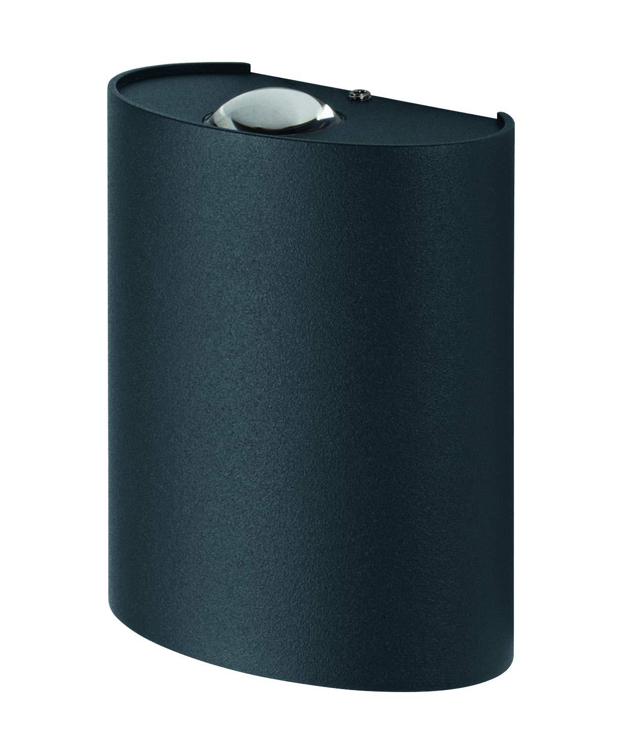 Ledvance Outdoor Plaf/ón de pared y techo 7.5 W aluminio color gris oscuro