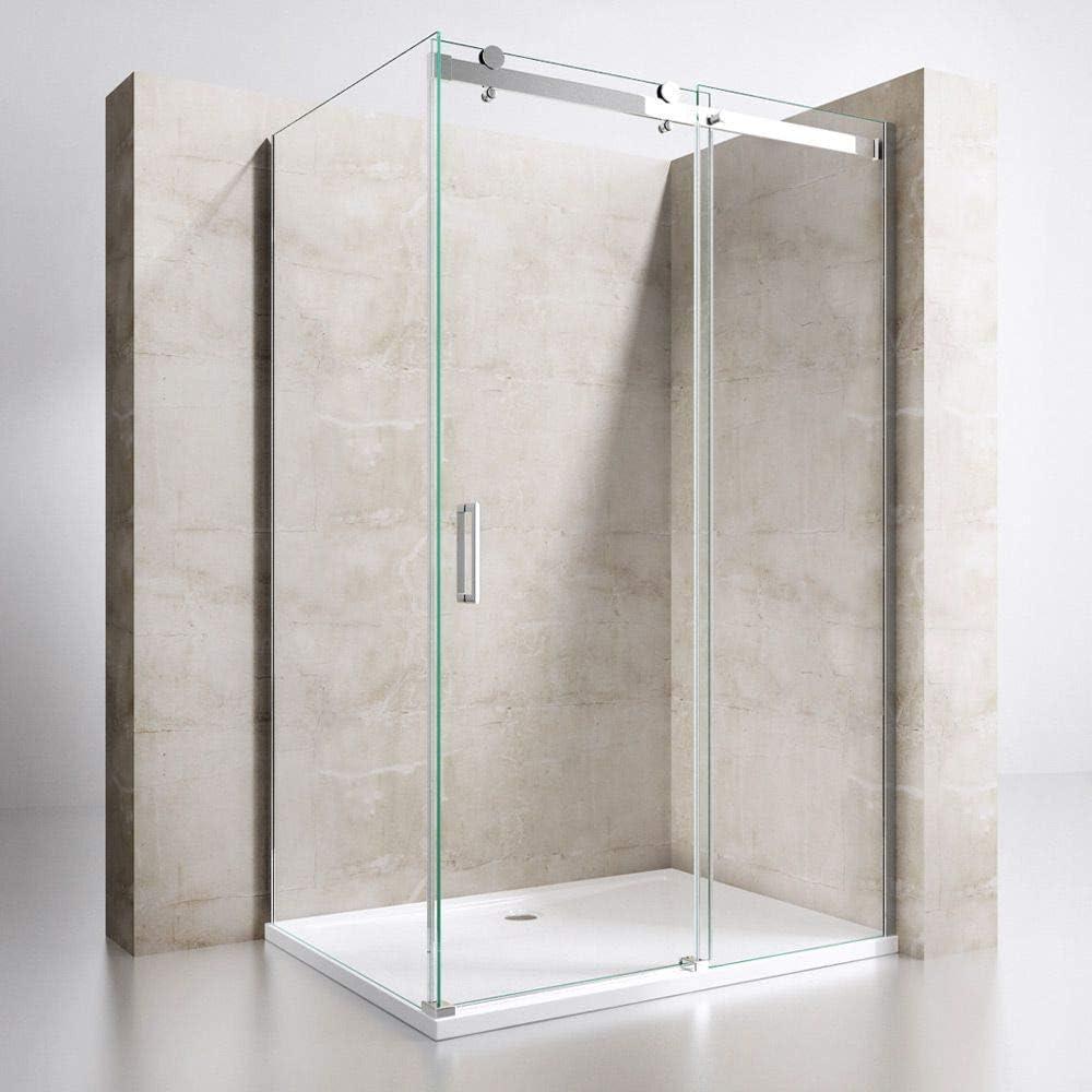 Box ducha Rubí 70 x 100 Cristal Transparente 8 mm Altura 195 cm ...