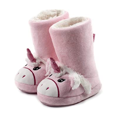 82a14309117d Totes Girls Novelty Unicorn Booties  Amazon.co.uk  Shoes   Bags