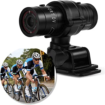 Waterproof Sports Digital Camera Cycling Camcorder with Bike Mount and Universal Base Cycling 1080P Video Camera with WiFi Function for Outdoor Use
