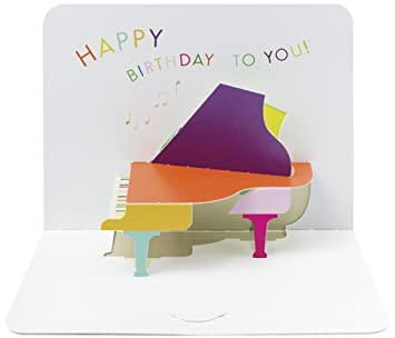 The art file fold design greeting card happy birthday piano the art file fold design greeting card happy birthday piano m4hsunfo