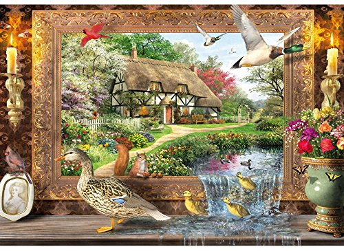 Still to Life Wooden 500 Piece Jigsaw Puzzle (Five Piece Hundred)