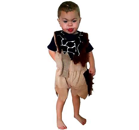Krause & Sohn Traje de niño Stone Age Boy Vestido marrón ...
