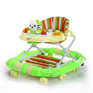Altura Ajustable Andadores Bebé, Anti-O-Pierna del Bebé Andadores ...