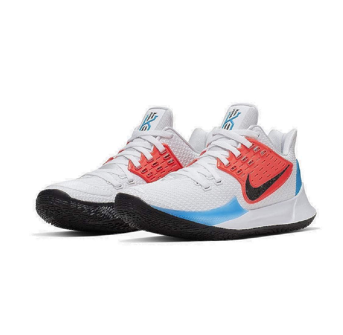 the best attitude d143c 724fb Amazon.com | Nike Kyrie 2 Low White Blue Crimson AV6337-100 ...