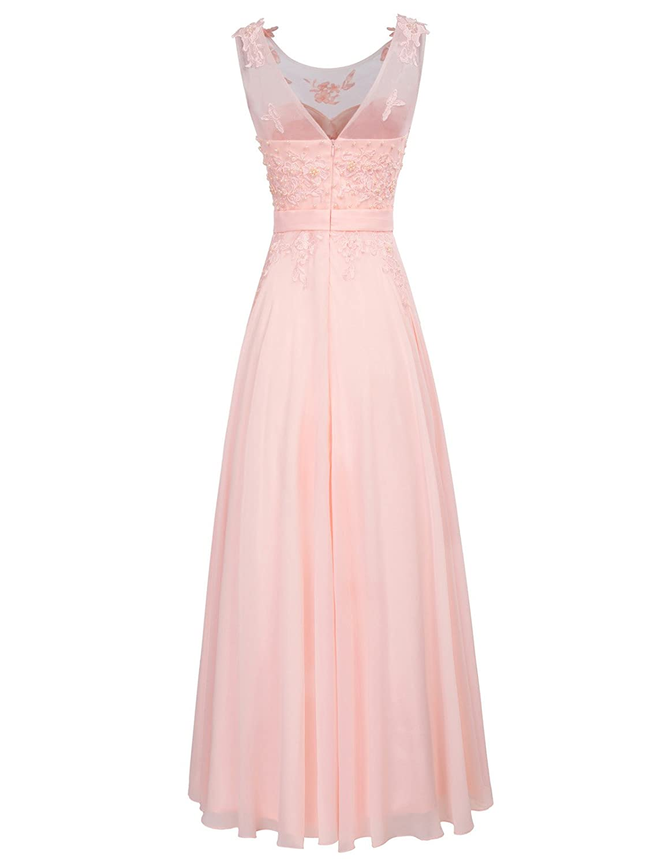 GRACE KARIN Vestido Largo Elegante para Mujer de Fiesta para Boda ...