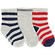 Robeez 3 Pack Daily Dave Socks 6-12 Months