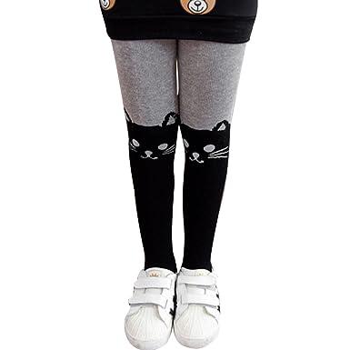 e94df8f68bf LA HAUTE Girls Leggings Fashion Warm Pantyhose Thermal Dance Tights  Stockings for Winter Autumn  Amazon.co.uk  Clothing
