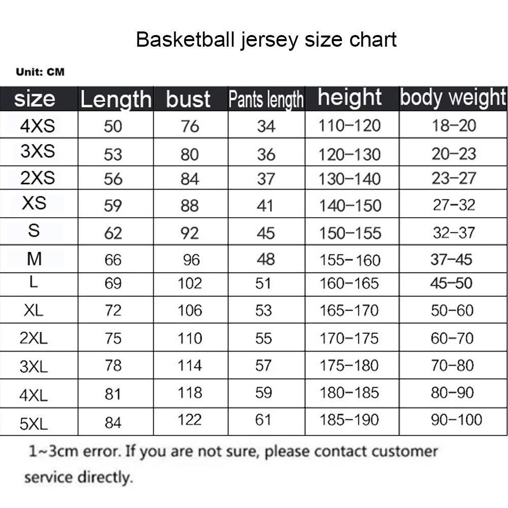 HS-ATI NICE Magliette da Basket Houston Rockets 13# Magliette Traspiranti per Bambini Manica Corta Vintage Camicie da Basket da Uomo Uniform,2XS:130cm~140cm James Harden