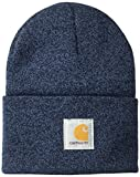 Carhartt Men's Acrylic Watch Hat A18, Dark Blue/Navy, One Size
