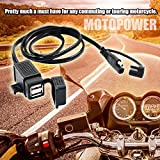 MOTOPOWER MP0609C 3.1Amp Waterproof Motorcycle Dual