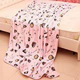 WIKE My Neighbor Totoro Blanket Children Coral Fleece Bath Towel Sleeping Cover 2m*1.5mM by WIKE