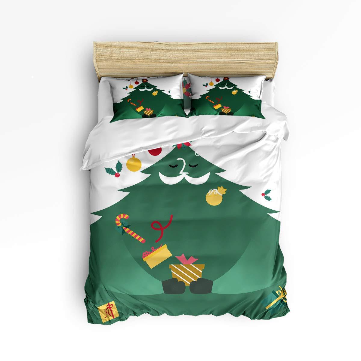 Anzona 寝具4点セット クリスマスプレゼントベル キャンディケーン デコレーション オーナメント ツリーに吊り下げ 4ピース 羽毛布団カバーセット ベッドスプレッド デイベッド 子供/子供/ティーン/大人用 King Size 181022-zly4pcsbeds-SWTQ00377SJTDAZN B07JQDR4VH Gift4azn3157 King Size