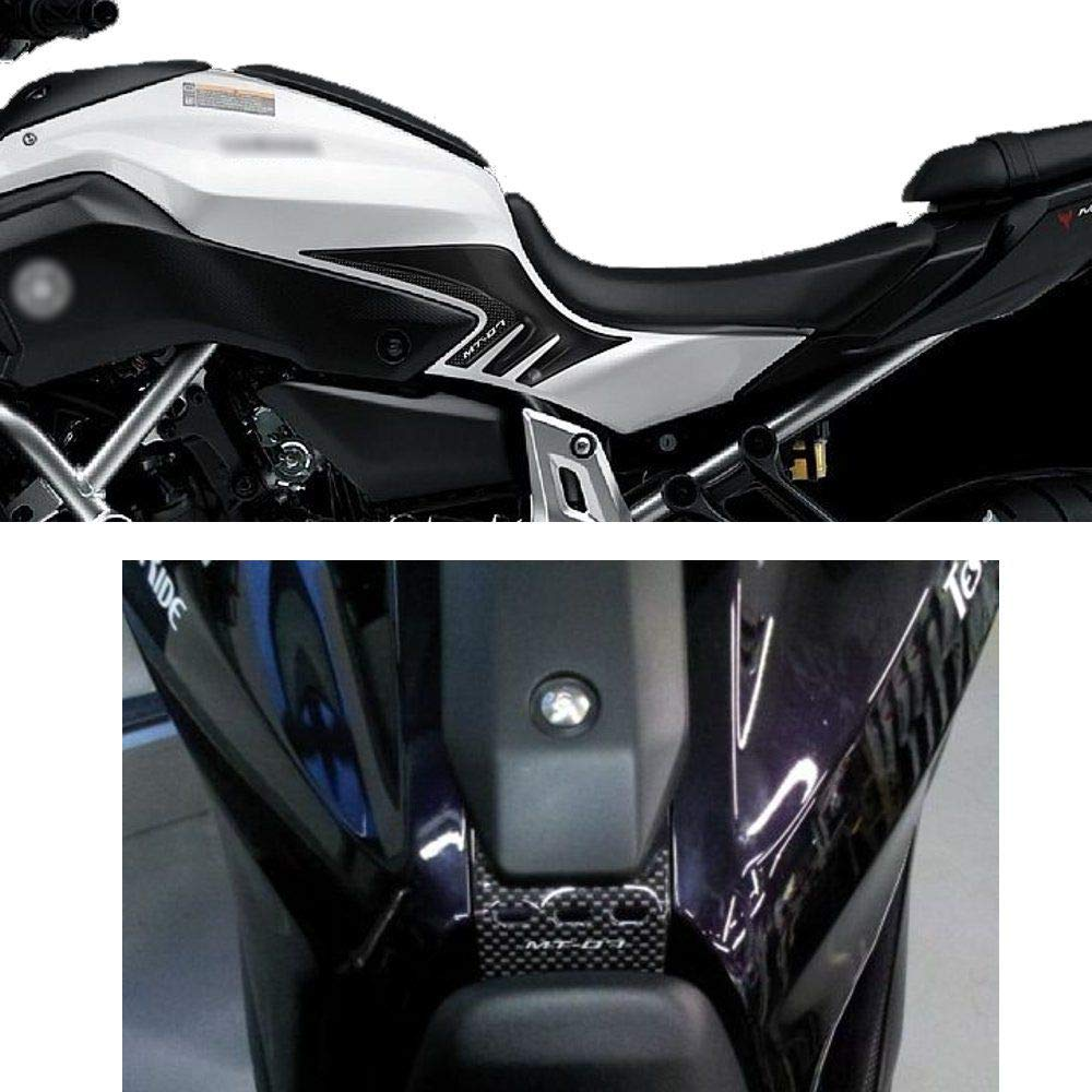 Kit Completo Protecciones Adhesivo 3D Compatible con Yamaha Mt-07