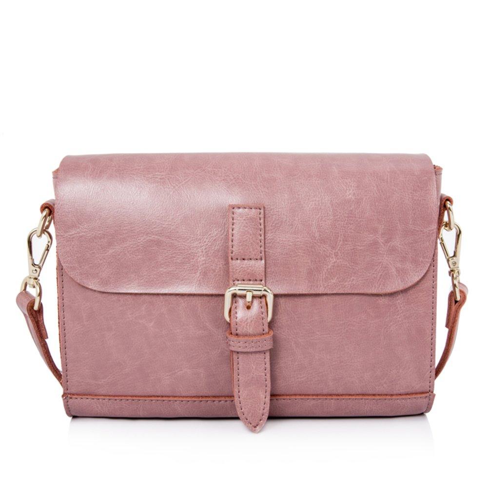 Simple Single-shoulder Bag Oblique Cross Lady Bag Vintage Messenger Bag