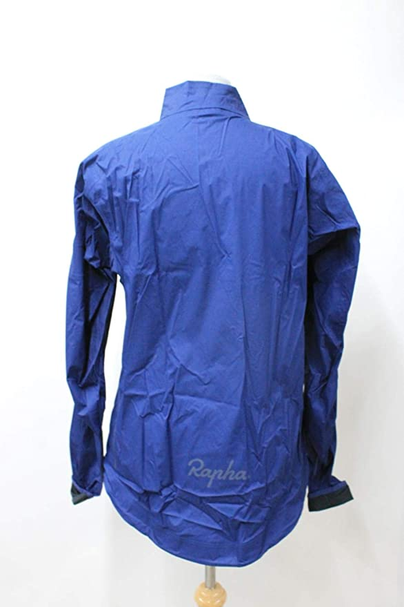 RAPHA Ladies Navy Rain Lightweight Packable Core Cycling Jacket Size S NEW