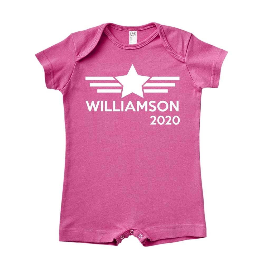 Mashed Clothing Williamson 2020 Presidential Election 2020 Baby Romper