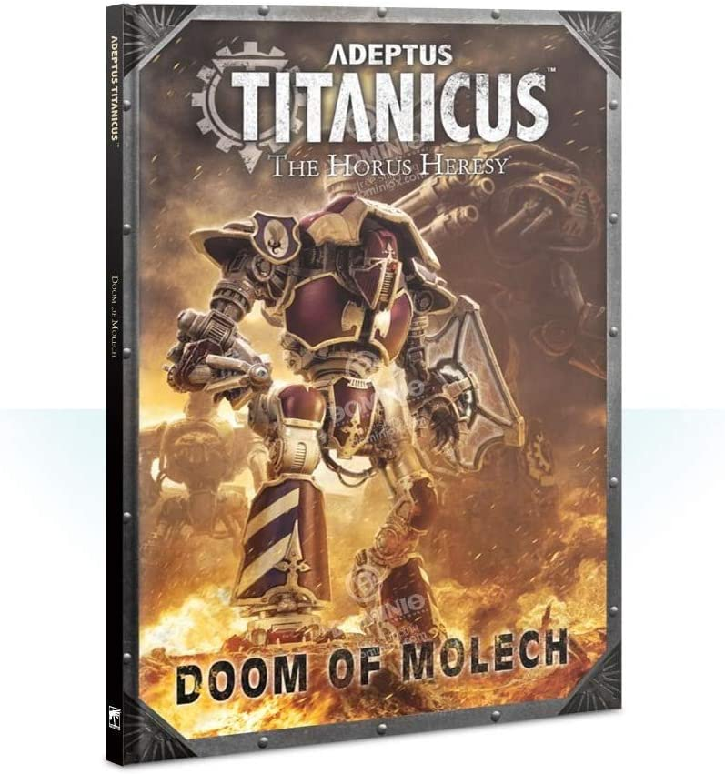 Games Workshop Adeptus Titanicus - Doom of Molech (Inglese): Amazon.es: Juguetes y juegos