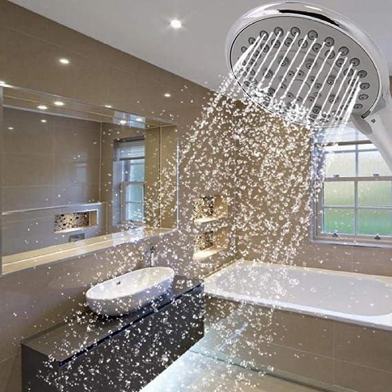 KangHS Ducha de mano/Baño Rociador de ahorro de agua Facuet Cabezal de ducha de mano Cabezal de ducha ajustable Alta presión Khs-A043: Amazon.es: Bricolaje y herramientas