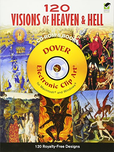 120 Visions of Heaven and Hell CD-ROM and Book (Dover Electronic Clip Art) (Idea Clip Art)