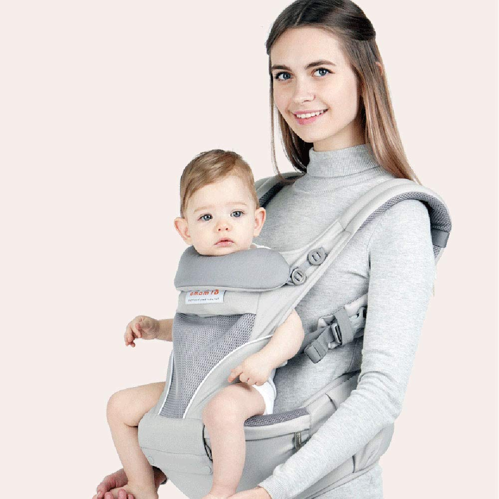 Edelehu Baby-Carrier Reise Zu Fuß Baumwolle Baby-Carrier Komfortabel und Ergonomisch Kind und Neugeborene Sling Multi-Position Tragen Tragetuch