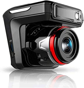 """ZCD Dual Dash Cam Car Dashboard Camera Recorder FHD 1080P Front and Rear Cameras for Cars,Driving Loop Recording,2.4"""" IPS Screen 150°Wide Angle, G-Sensor, Night Vision, Motion Detection"""