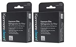Kenmore elite air filter 469918 fits - LG refrigerator air filter LT120F - 9918 Kenmore replacement filter for IFXC24726s - IFX28968st - IFXS30766s - IFX31925st - IFX25991st - ADQ73214404 - 2 PACK