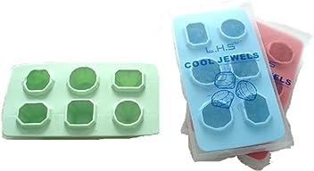 a39c6aa2124 Carin 3PCS Colorful COOL JEWELS Diamond Ice Tray (3)