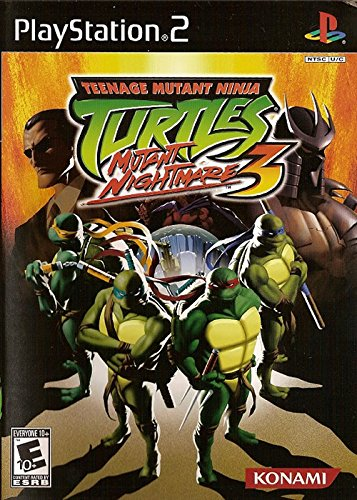 Teenage Mutant Ninja Turtles 3: Mutant Nightmare - PlayStation ()