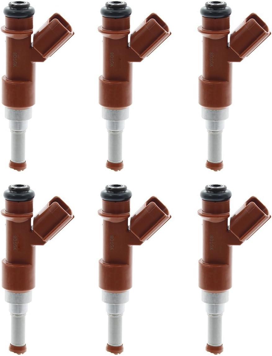 6 x OEM Denso Flow Matched Fuel Injector for Toyota Highlander Lexus ES350 RX350