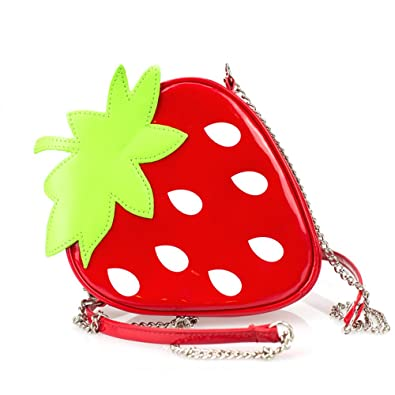 Amazon.com: RAINIE amor niño lindo fruta fresa forma Mini ...