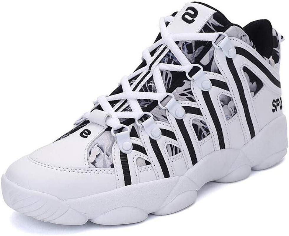 Scarpe da pallavolo Unisex Scarpe da Corsa Leggere Scarpe da Basket Alte,A,36 XIANGYANG Scarpe da pallavolo