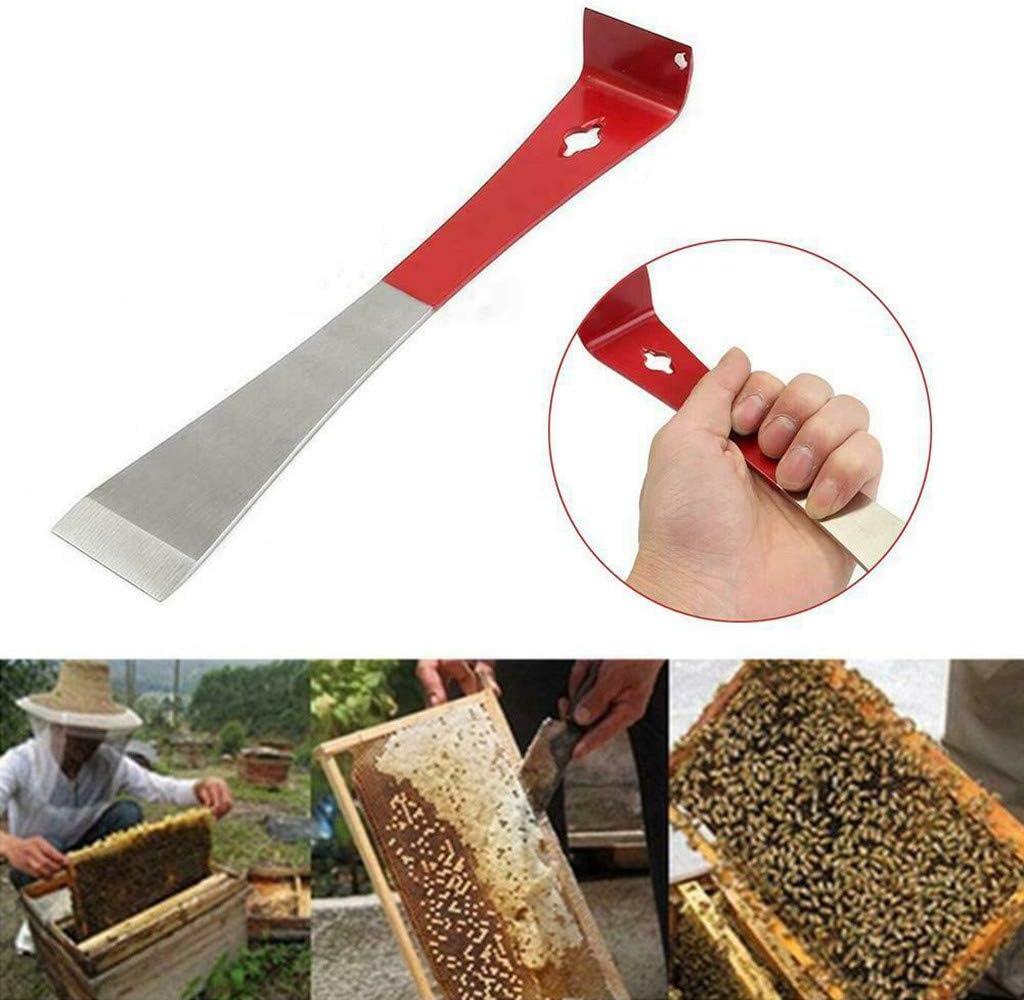 Stainless Steel Wide Beekeeper Honeycomb Scraper Tool with Plastic Handle Tool