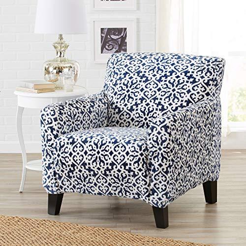 Great Bay Home Modern Velvet Plush Strapless Slipcover