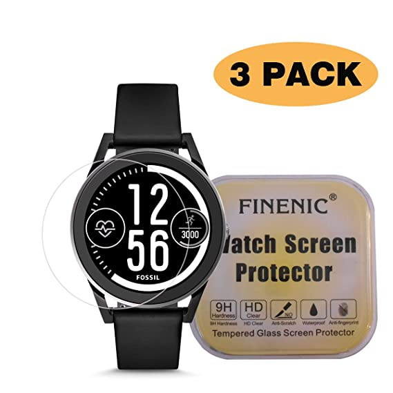 Amazon.com: FINENIC [3 Pack] Screen Protector for Fossil Q ...